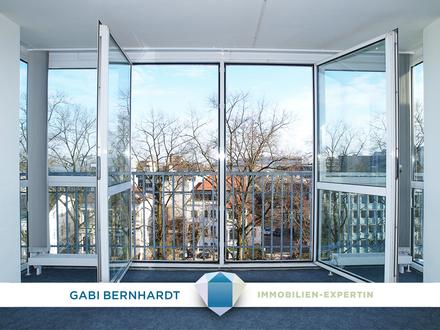 Wohnen und Arbeiten mit herrlichem City-Ausblick über die Dächer von OL.