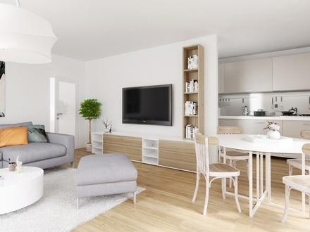 Sehr helle 4-Zimmer-Wohnung mit Freiflächen, Top 41