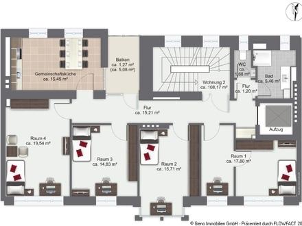 Grundriss 2 Obergeschoss