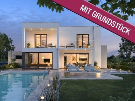 Sensationelles Bauhaus für das moderne Leben (inkl. Grundstück & KfW 55)