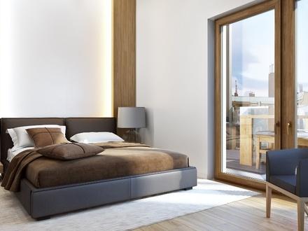 09 Visualisierung Schlafzimmer & Terrasse