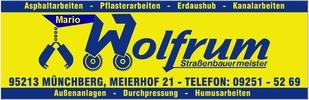 Mario Wolfrum, Straßen- und Tiefbau