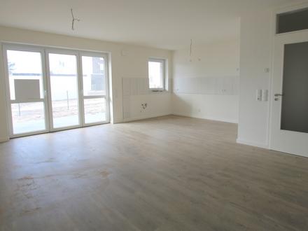 2-ZKB-Neubau-Komfort-ETW mit Terrasse, Gartenanteil+Keller in Westerstede -Garage optional möglich-