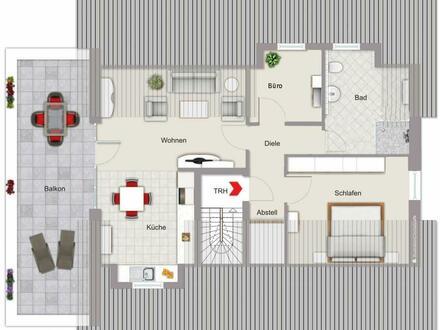 Neubau DG-Wohnung