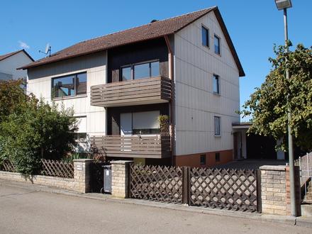 Zweifamilienhaus mit Ausbaureserve in Pfuhl!