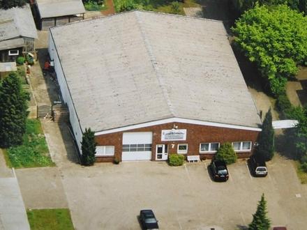 Lager-/Werkhalle mit Büroteil im Gewerbegebiet am Detershof