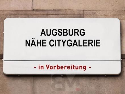 8 kernsanierte Wohnungen und 1 Gewerbeeinheit in der Augsburrger Altstadt
