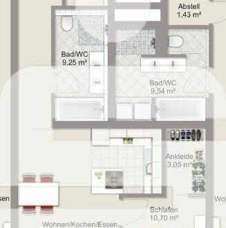 Tolle 2-Zimmer-Wohnung in Passau- Grubweg