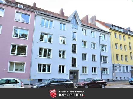 KAPITALANLAGE: Am Wall / Tolle City Wohnung mit 3 Zimmern und Süd-Loggia