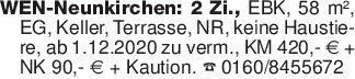 WEN-Neunkirchen: 2 Zi., EBK,...