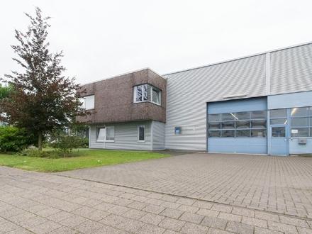 Lager- & Produktionshalle mit Werkstatt und Büro