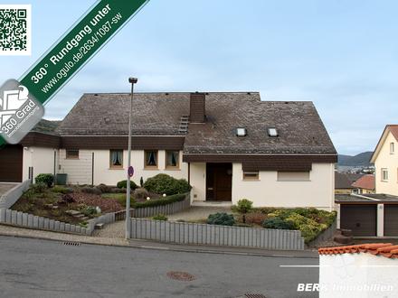BERK Immobilien - Ein- bis Zweifamilienhaus in beste Wohnlage Miltenbergs mit Pool, Sauna und Garten