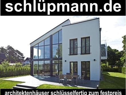 Modernes EFH mit großer Glasfront