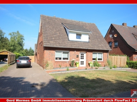 Einfamilienhaus mit Teilkeller auf großem Grundstück in Haren-Fehndorf zu verkaufen!