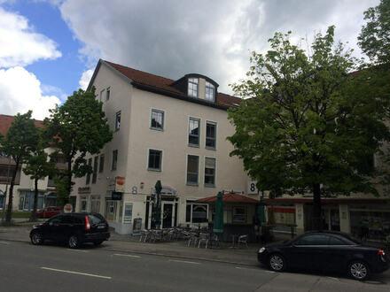 im Zentrum von Traunreut schöne Gewerbefläche ca. 86 m² vermietet zu verkaufen
