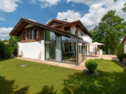 Architektenhaus im Landhausstil in bevorzugter Wohnlage von Bad Wurzach!