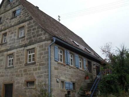 Denkmalgeschützter, ehemaliger Gutshof in 74532 Ilshofen-TO