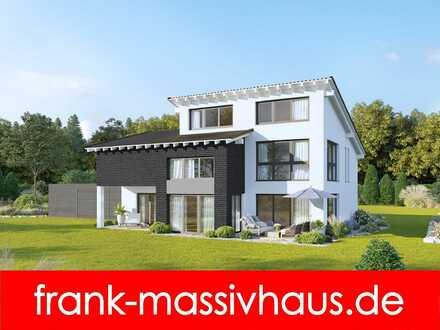 Modernes Pultdachhaus