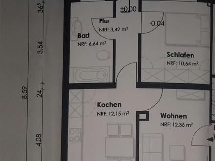 In Laer, Erdgeschosswohnung max 2 Personen.