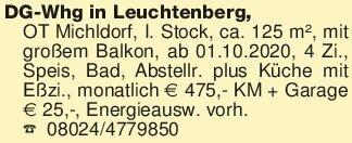 DG-Whg in Leuchtenberg, OT Mic...