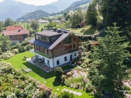 Salzkammergut - Refugio über dem Traunsee - Panoramalage mit grandiosem Berg- und Seeblick