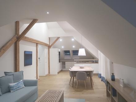 Dachgeschoßwohnung mit Loftcharakter - URBAN und ZENTRAL