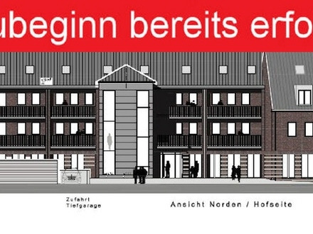 Ascheberg - 114 m² Neubau-Wohnung mit Maisonette! Ab dem November bezugsfertig!
