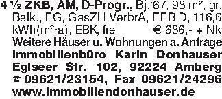 4 ½ ZKB, AM, D-Progr., Bj.'67,...