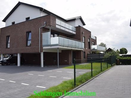 Objekt Nr. 00/696 Exklusive Neubau Oberwohnung mit Balkon in Barßel