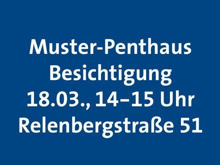 Neubau in Stuttgart-Nord: 4-Zimmer-Wohnung mit Wintergarten Muster-Penthaus Besichtigung am 18.03. von 14-15 Uhr!
