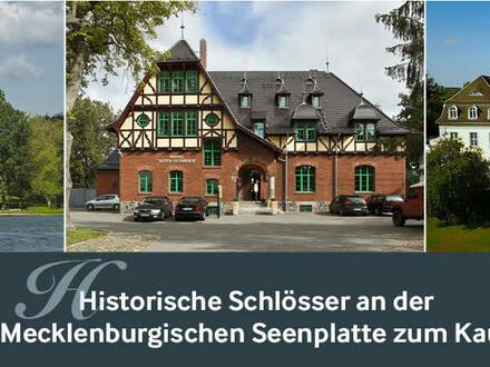 Historische Schlösser an der Mecklenburgischen Seenplatte