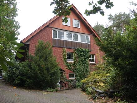 Mit sehr großem Potential: Gepflegtes Mehrfamilienhaus, Lagerhalle und sehr großes Grundstück