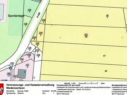 Landwirtschaftliche Fläche in Springe-Boitzum