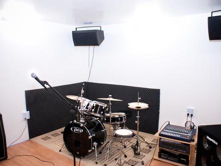 Proberaum und Tonstudio 1 Min. entfernt von U3