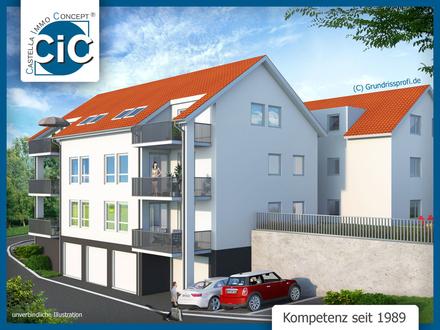 Komfort pur - Neubauprojekt in ruhiger Lage | rollstuhlgerechte 2-Zimmer-Wohnung mit TG-Stellplatz