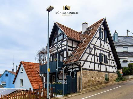Der Traum vom eigenen Häuschen im Zentrum von Großheppach.
