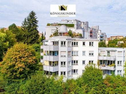 Stuttgart - Freundliche 4,5 Zimmer-Wohnung in ruhiger Lage mit tollem Ausblick