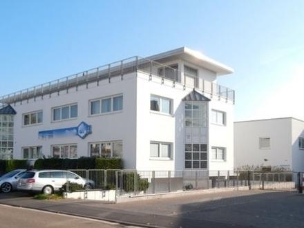 MAINZ-WEISENAU 1AA-Bürogebäude + Werkhalle + Chef-Villa + Tiefgarage + Hof auf 2663 m²