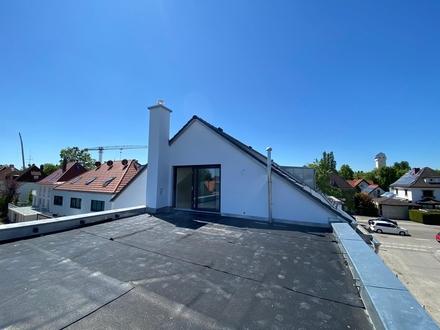 Erstbezug: Attraktives Stadthaus mit großer Dachterrasse in München-Aubing