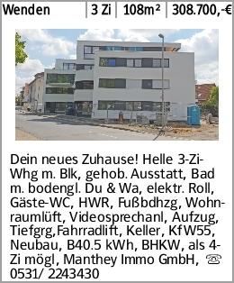 Wenden 3 Zi 108m² 308.700,-€ Dein neues Zuhause! Helle 3-Zi-Whg m. Blk,...
