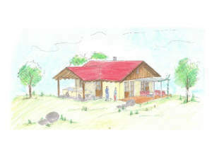 Schlüsselfertiges Wohnhaus mit Carport in Holzrahmenbauweise - natürlich und modern