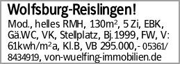Wolfsburg-Reislingen!