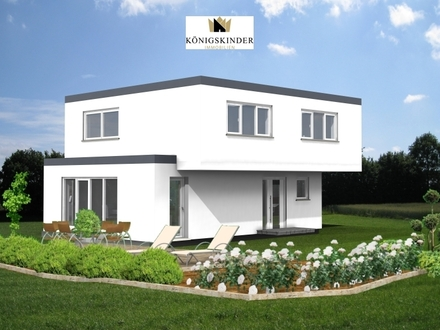 Modernes Einfamilienhaus projektiert, in ruhiger Lage von Schorndorf