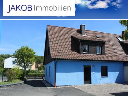Doppelhaushälfte mit schönem Garten in Top Lage Kulmbachs.