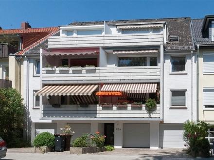 Helle 3-Zimmer-Dachgeschoss-Wohnung mit Sonnenbalkon