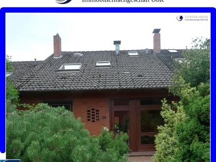 gepflegtes Reihenhaus mit Garten und Garage in Westerstede