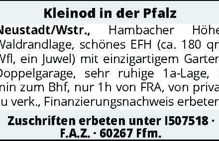 Kleinod in der Pfalz