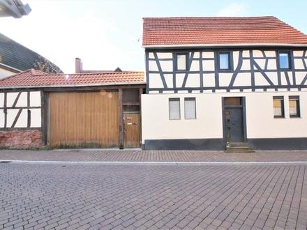 Zentrales Fachwerkhaus mit Flair in Reinheim