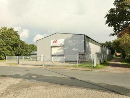 TT bietet an: Große Gewerbehalle mit 11-t-Kran in Schortens!