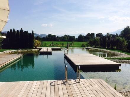 Schöne Maisonetten-Wohnung in Anif mit hauseigenem Schwimmteich